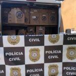 Polícia Civil recupera carga roubada em São Leopoldo