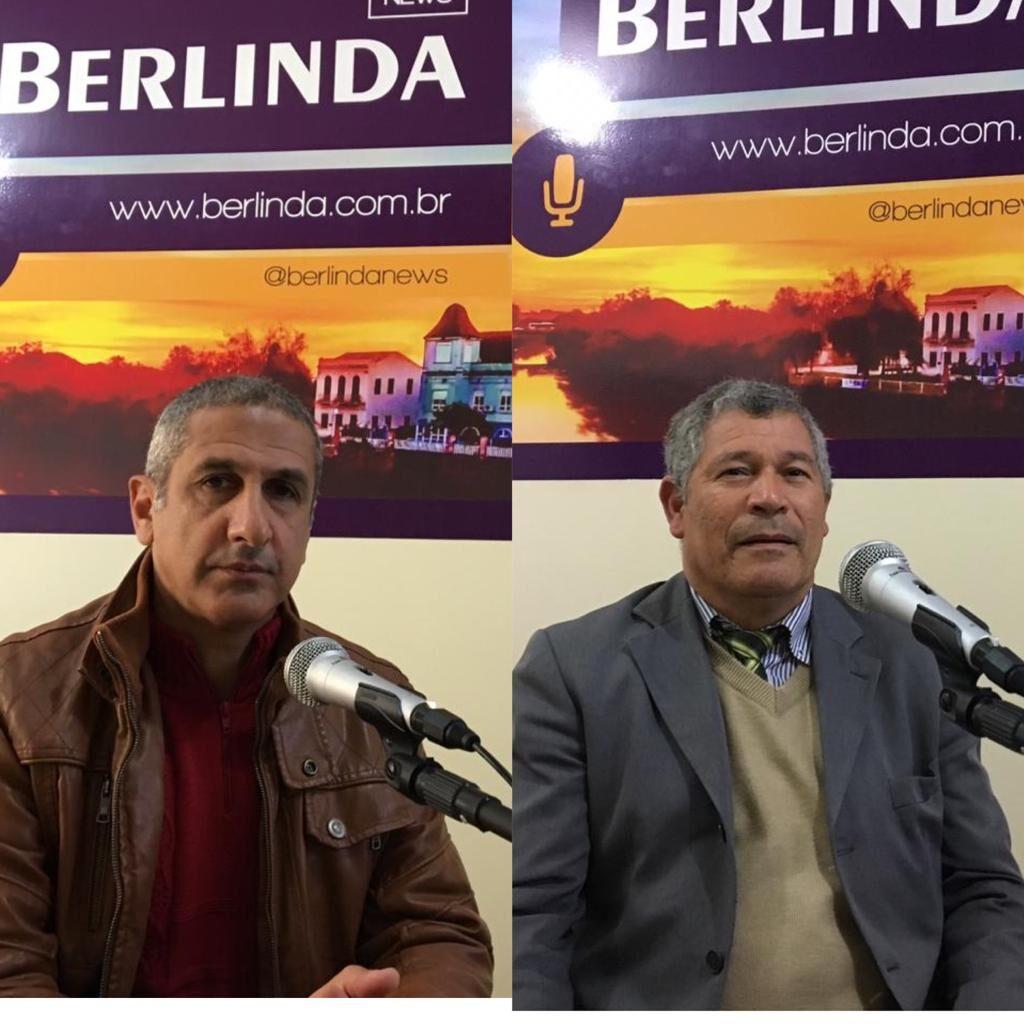 Os pré-candidatos Coronel José Nilo e pastor Marcelino Moreira