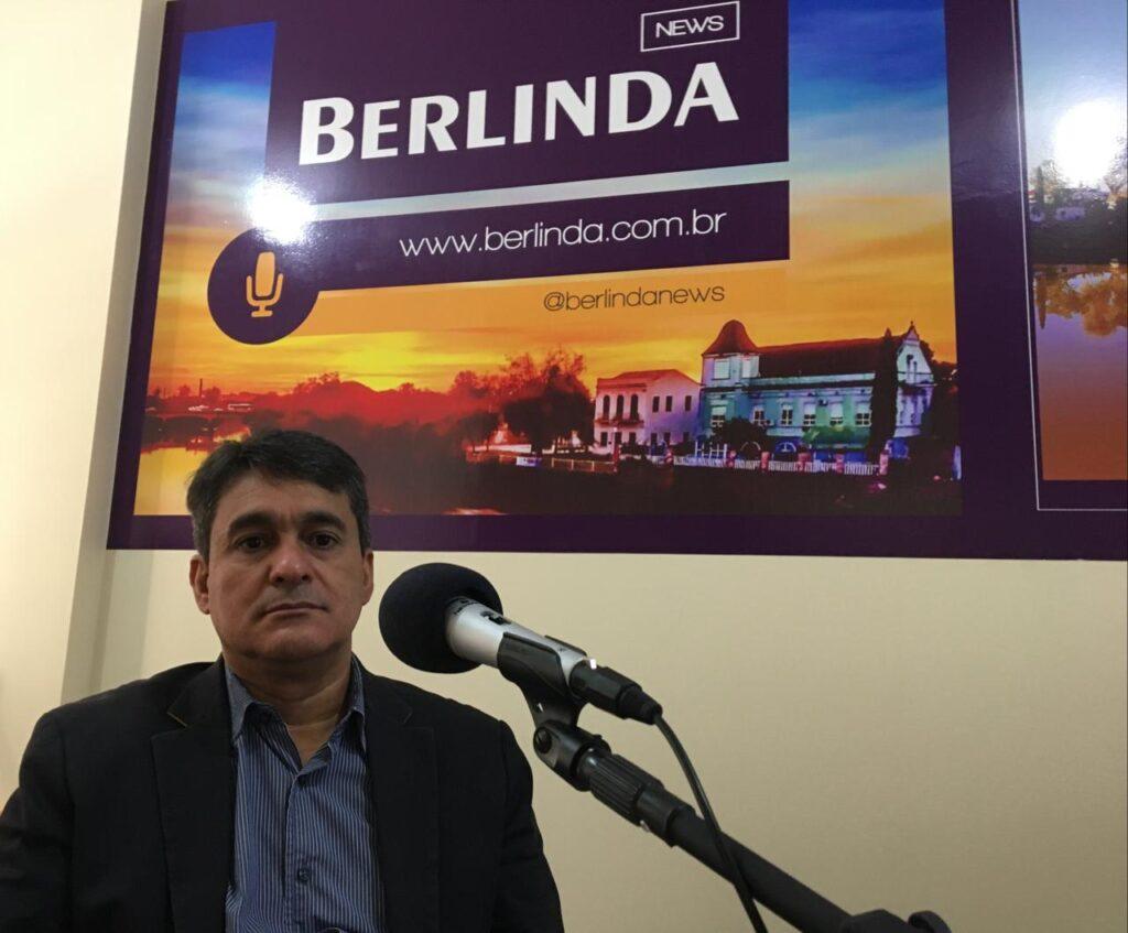 Fernando Menezes (PT-SL), pré-candidato a vereador, no Berlinda News Entrevista