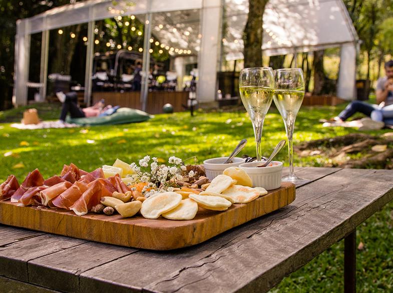 Degustando vinhos ao ar livre – Seja bem vinda Dona primavera!