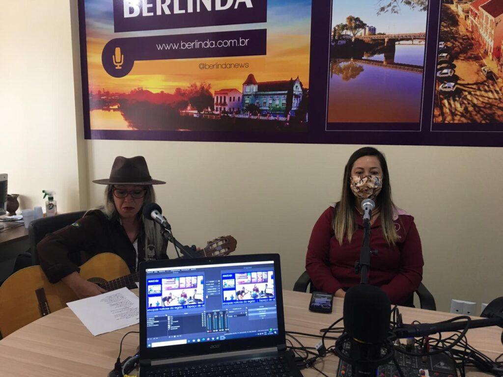 Berlinda News estreia programa Cultura Capilé recebendo representantes femininas do tradicionalismo gaúcho