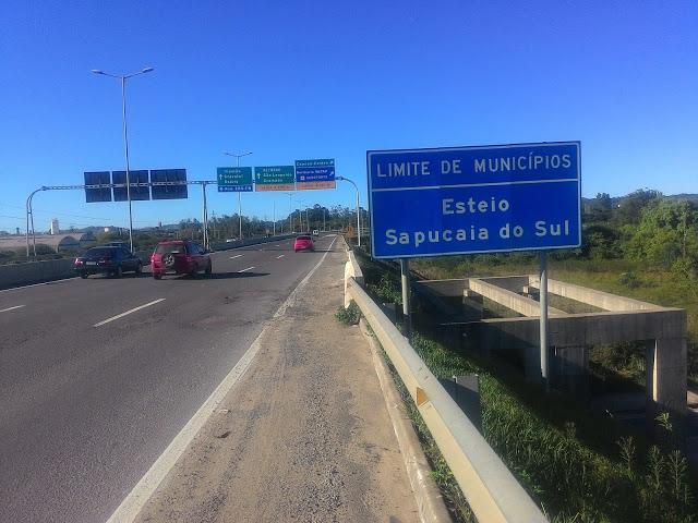 ATENÇÃO MOTORISTA: DNIT fará reparos na pista em Sapucaia do Sul, no acesso da BR-448 para BR-116