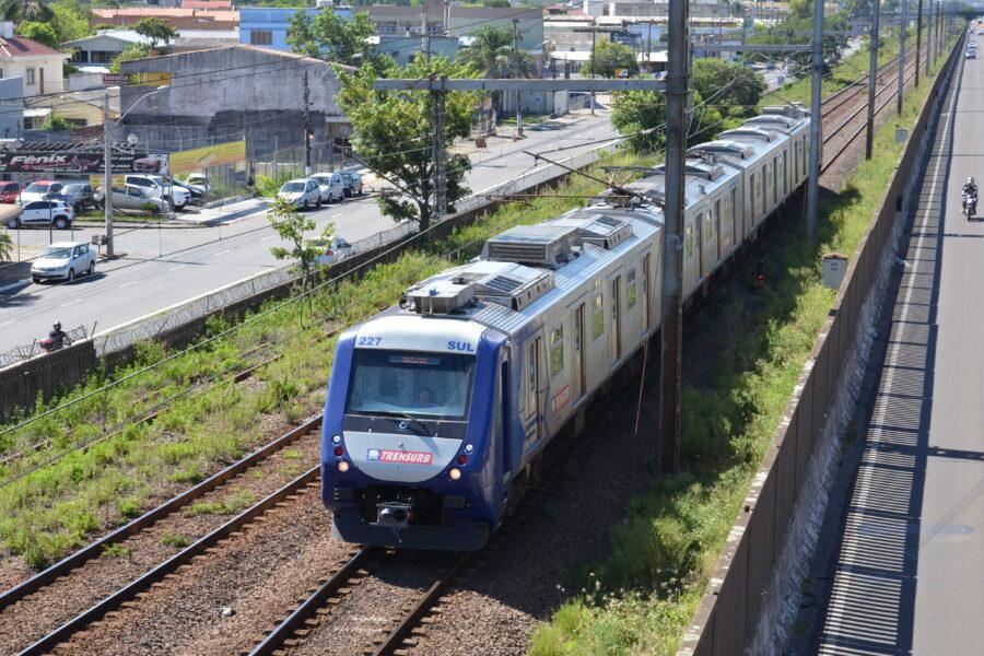 Funcionários da Trensurb farão protesto de duas horas na terça-feira, dia 20