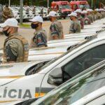 Brigada Militar de São Leopoldo recebe 3 viaturas semiblindadas e Corpo de Bombeiros uma ambulância