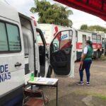 Unidade Móvel vai ao Morro do Paula e Aldeia vacinar idosos a partir de 73 anos contra Covid