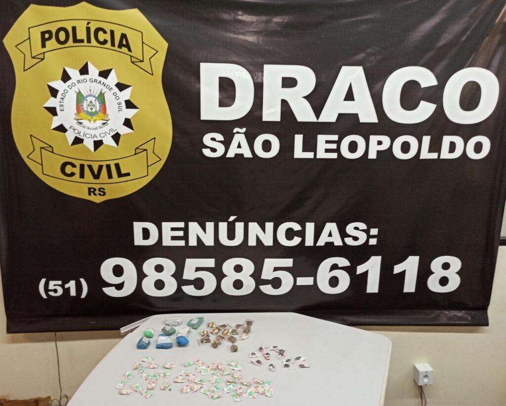 Vídeo: No bairro Campina, Draco prende homem de 38 anos e encontra droga em matagal