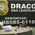 Vídeo: Dois laboratórios de drogas desmantelados pela Draco, prejuízo de R$ 1 milhão de facção criminosa do Vale do Sinos