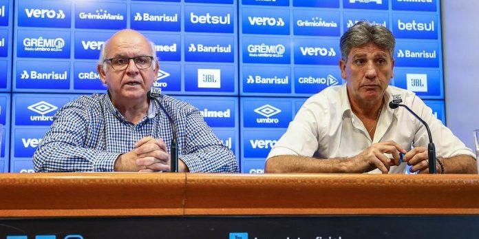 Renato Portaluppi deixa o comando do Grêmio após cinco temporadas