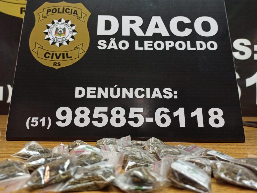 Traficantes presos na Vila Brás escondiam droga no barranco do arroio