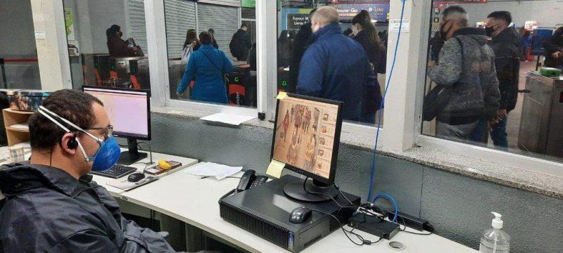 Em dois dias, barreira sanitária da Trensurb identifica três usuários de São Leopoldo e Sapucaia do Sul com Covid-19