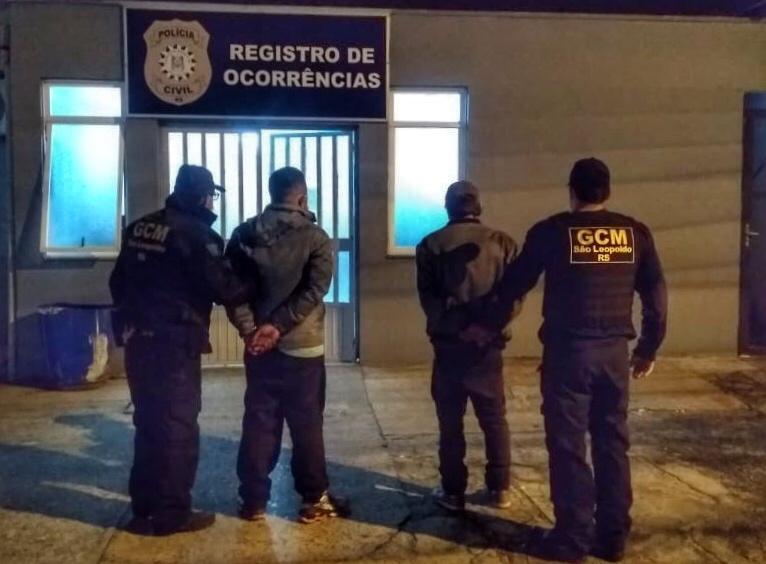 GCM prende dois homens na madrugada, furtando fios de cobre no bairro São José