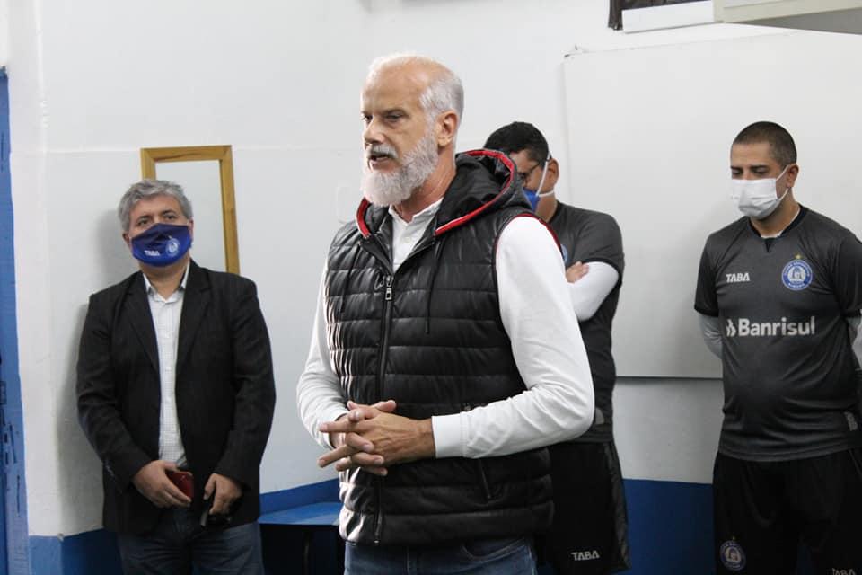 Ronaldo Vieira renuncia à presidência do Aimoré por falta de apoio do empresariado e Poder Público