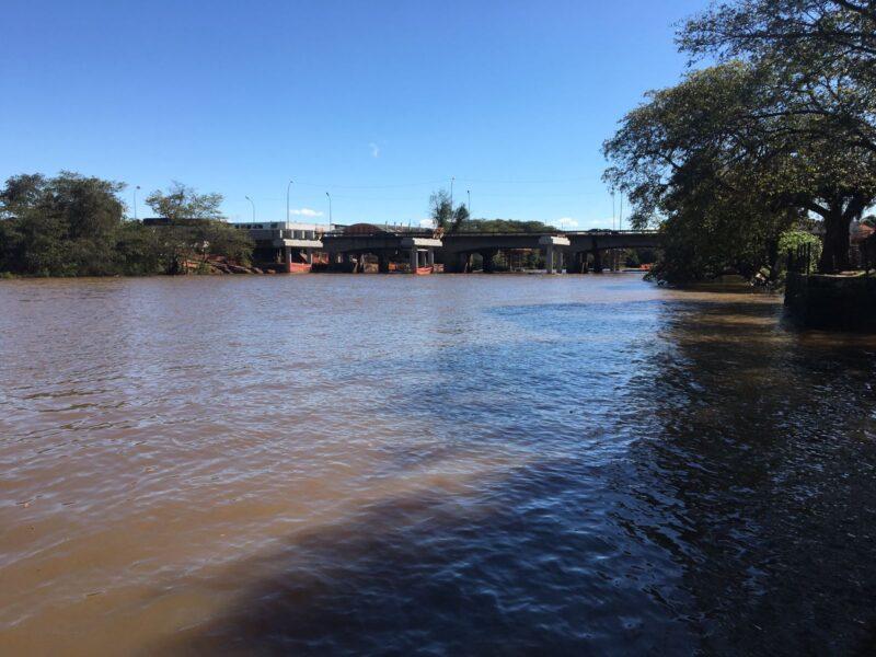 Com 3,42 metros acima do nível Rio do Sinos não oferece risco em São Leopoldo