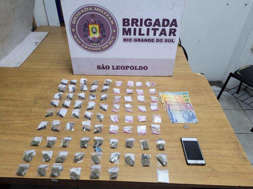 Mulher de 22 anos é presa na Campina por tráfico de drogas