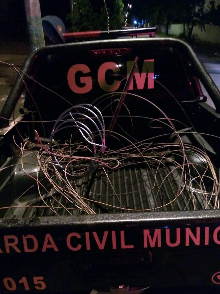 Homem é preso pela 6ª. vez neste mês de setembro por furtos de fios em São Leopoldo